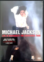 Michael Jackson ‎DVD Live In Bucharest: The Dangerous Tour - Europe (EX+/M)