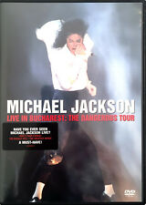 Michael Jackson DVD Live In Bucharest: The Dangerous Tour - Europe (EX+/M)