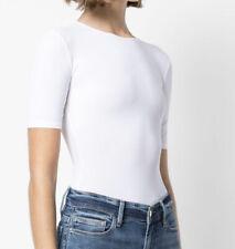 Ladies ALIX NYC Arden White Bodysuit. Size XS-S. GUC $245