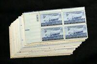 US STAMPS PLATE BLOCKS - **FANTASTIC** - Collection of Vintage 5c Mint NH OG