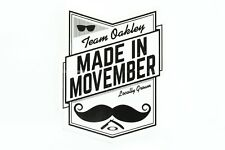 MEGA RARE Oakley Sticker Team Oakley Made in Movember Locally Grown Display