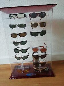 original Black Flys Verkaufs- Vitrine für 16 Brillen - absolute Rarität!