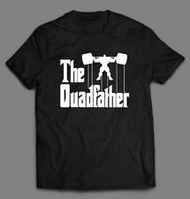 THE QUAD FATHER CROSSFIT GYM PARODY MASHUP QUALITY T-SHIRT* MANY COLORS & SIZES
