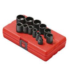 "Sunex Tools 3/8"" Drive 12 Point 12 Pc. SAE Impact Socket Set - 3674"