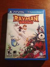 Rayman Origins with Case PS Vita Game (Mint Condition) - Fast Shipping