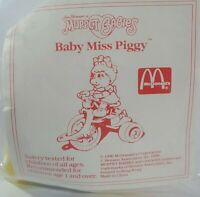 NEW SEALED BABY MISS PIGGY MUPPET BABIES VINTAGE 1990 McDONALDS HAPPY MEAL TOY 2
