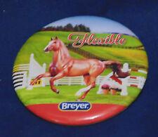 BREYER HORSE BUTTON PIN - FLEXIBLE - JUMPER - RARELY SEEN PIN