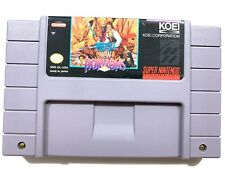 Uncharted Waters New Horizons SUPER NINTENDO SNES Game Authentic & Tested!