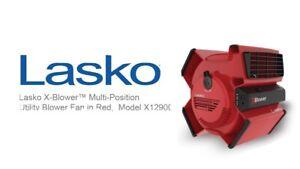 Lasko X-Blower Multi-Position Blower Utility Fan Garage, Workshop & Basement