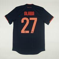 NWOT Alaba Bayern Munich 2019 2020 PLAYER ISSUE Football Shirt Jersey Climachill