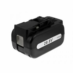 Battery for Panasonic battery operated drilling hammer EY7880LZ2C 28,8V