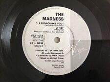 THE MADNESS - 1988 Vinyl 4 track 33rpm EP - I PRONOUCE YOU