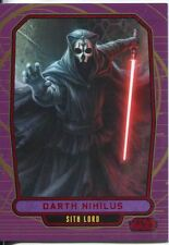 Star Wars Galactic Files Red Parallel #189 Darth Nihilus