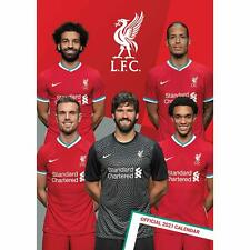 Liverpool FC 2021 Calendar Official A3 Wall Calendar