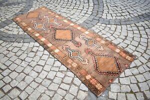 AMAZING Anatolian Runner Rug 35'' x 96'' Turkish Kilim Hallway Corridor Kars Rug