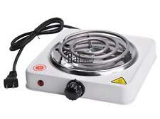 Single Electric Burner Portable Hot Plate Dorm Travel Cook Stove Countertop BTSY