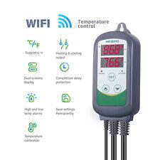 Inkbird ITC-308 Wifi Digital Thermostat APP Temperature Monitor Homebrew Beer US