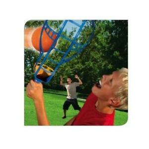 Crazy Curve Track Trac Ball Toss n Catch Racket Yard Game Outdoor Family Fun