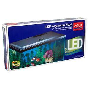 Led Hood 10 Gallon Aquariums Fish Tank Cover Light Long-life LED