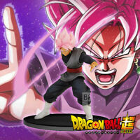 DBZ Dragon Ball Z Super Saiyan Rose Sickle Goku Black Zamasu Figure 14cm NoBox