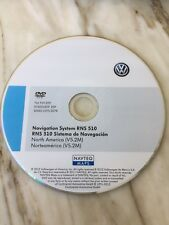 2012 Volkswagen-VW-RNS-510-NAVIGATION DVD-V5-2M-Map-2012-USA MEXICO CANADA OEM