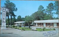 Valdosta, GA 1968 Chrome Postcard: Pines Motel - Georgia
