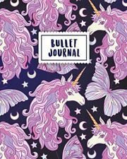 Bullet Journal: Magical Unicorn | 150 Dot Grid Pages (size 8x10 Inches) | With