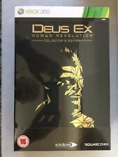 Deus Ex: Human Revolution -- Collector's Edition XB0V 360 NEW SEALED BBFC RATED