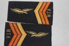 Lot de deux Fourreaux au grade de Caporal-Chef (M.T.A) Armée de l'Air Française