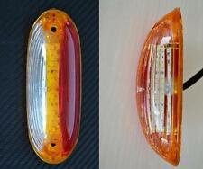 2 x LED 24V UMRISS Seite Begrenzungsleuchten vertikal passend für LKW Anhänger