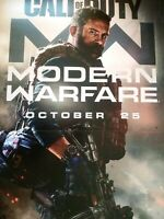 CALL OF DUTY MODERN WARFARE  COD Gamestop Exclusive Promo 2 Poster Set