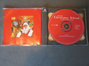 Various The Best Christmas Album in the World ...Ever! VGC Free UK postage
