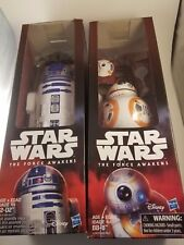 Star Wars BB-8 & R2-D2 Action Figures 12 Inch Hero Series Force Awakens In Hand