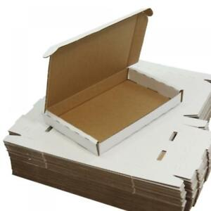 C6 Premium White Large Letter Boxes A6 Piece of Paper Various Amounts Easy Fold!
