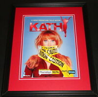 Kathy! 2012 Bravo Kathy Griffin Framed ORIGINAL 11x14 Vintage Advertisement