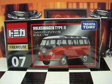 TOMICA PREMIUM #07 VW VOLKSWAGEN TYPE II 1/65 SCALE NEW IN BOX