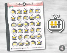 This Is Us TV Show Planner Stickers - dramady comedy television this is us