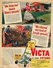 victa18 rotomo advert repoduction 1957 a3 size