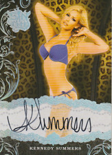Kennedy Summers 2015 Benchwarmer Sin City autograph auto card