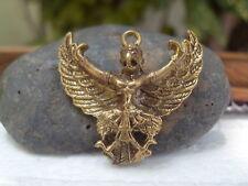Garuda Hinduism  Brass Amulet  Pendant TINY