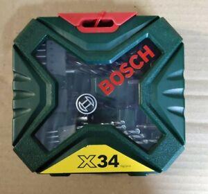 Bosch Accessories 2607010608 X-Line 34-piece Universal Drill Bit Set