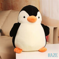 "11"" Cute Penguin Plush Soft Doll Toys Stuffed Animal Doll Cushion Kid Gift Home"