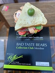 Bad Taste Bears - Club Sandwich, members bear