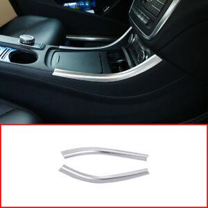 ABS Chrome For Benz A CLA GLA W117 W176 X156 Center Console Decoration Strip