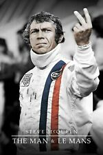 Steve McQueen Le Mans 30x20 Inch Framed Canvas! Wall Covering Art Print Decor
