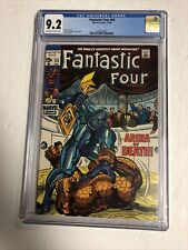 Fantastic Four (1969) # 93 (CGC 9.2 OWTWP) | Jack Kirby Stan Lee