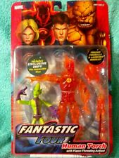 HUMAN TORCH & IMPY (IMPOSSIBLE MAN)Fantastic Four classics Marvel Legends Figure