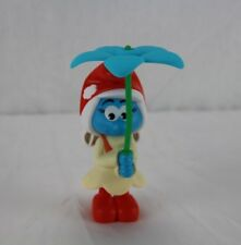 2017 Burger King Smurf Toy Smurfwillow Flyin' Flower Copter Smurf New