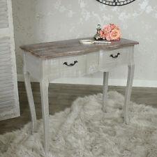 Grau Holz Kosmetiktisch Konsole Schubladen Billig Französisch Chic Schlafzimmer