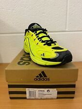 Adidas Para Hombre Galaxy correr trainer 076546 Raro Retro Amarillo/Negro UK 13.5